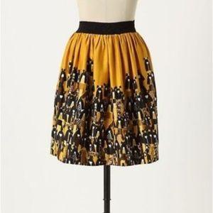 Anthro Edme & Esyllte Mustard Matriarch Skirt, 6